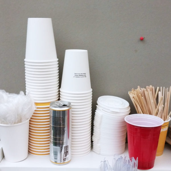 Paper cups are members of the Container Union.