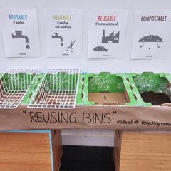 The prototype of Reusing Bins