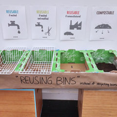 The prototype of Reusing Bins